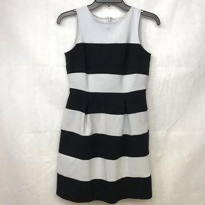Ann Taylor LOFT Striped Petite Sz 00 A Line Dress